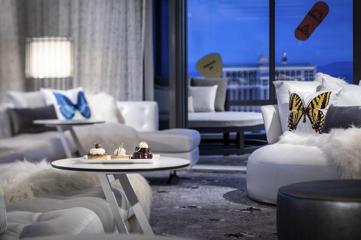 Дэмиен Херст оформил номер в отеле Palms Casino Resort (фото 5)