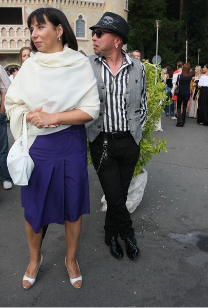 Гарик Сукачев с супругой