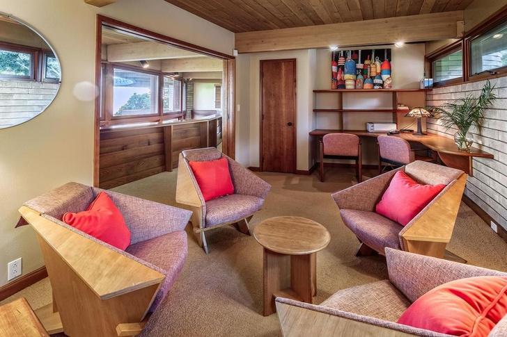 Дом по проекту Фрэнка Ллойда Райта на Гавайях (фото 3)
