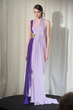 Показ Dominique Sirop коллекции сезона Весна-лето 2009 года Haute couture - www.elle.ru - Подиум - фото 86508