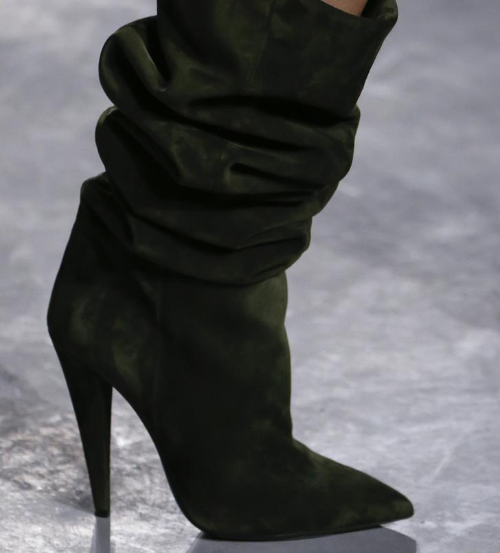 Обувь на Неделе моды в Париже, которую вы будете носить весной фото [3]