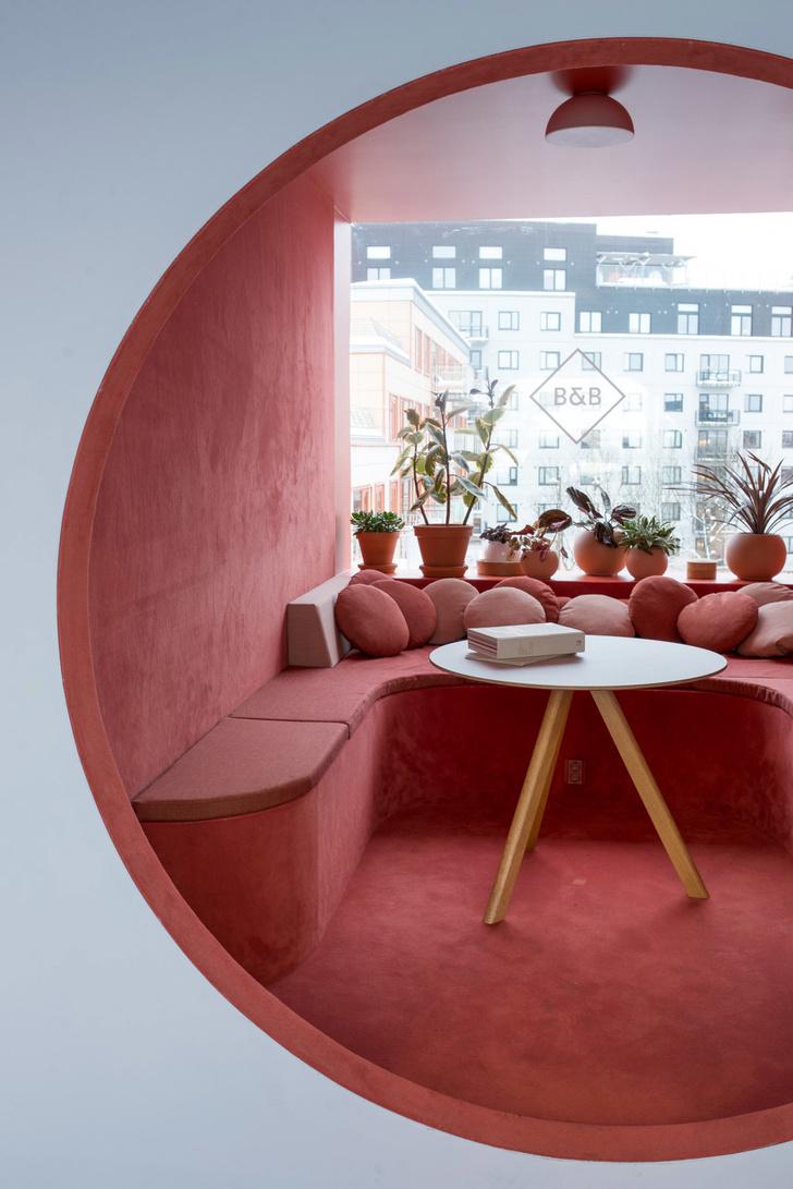 Офис в пастельных тонах по проекту Kvistad в Осло (фото 6)