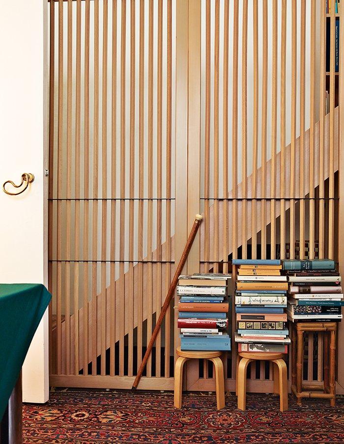 Elegant Milan Home of Designer Gae Aulenti (фото 6)