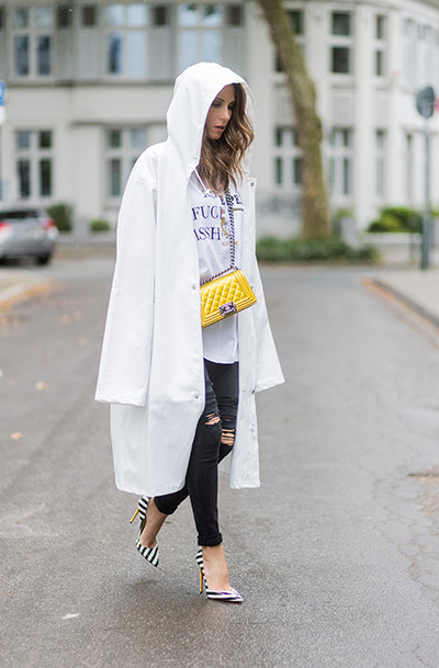 How to dress in the rain: | gallery [2] photos [6]