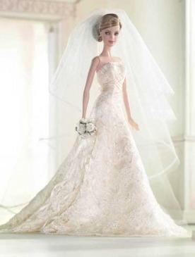 Куклы барби в свадебном платье купить