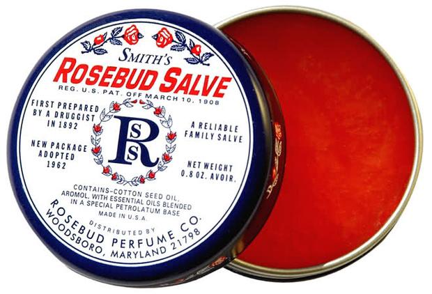 Многофункциональный бальзам Smith's Rosebud Salve Tin от Rosebud Perfume