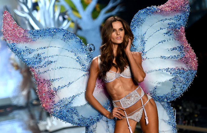 Изабель Гулар: Victoria's Secret Fashin Show 2014