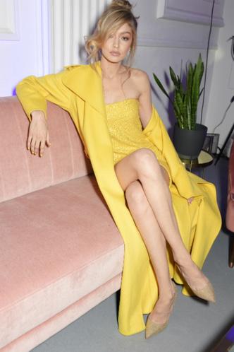 Джиджи Хадид на вечеринке Maybelline в Лондоне фото [1]