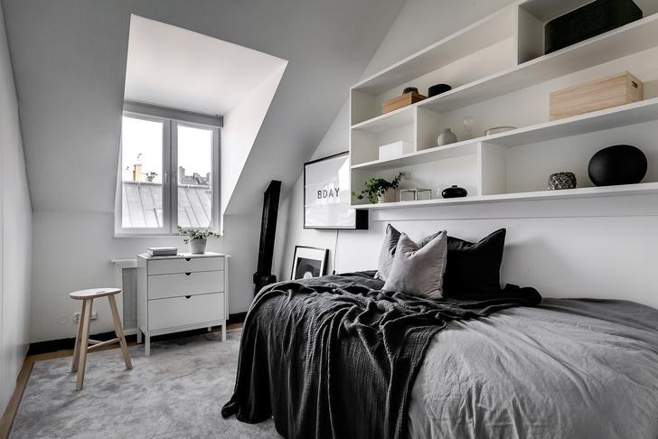 7 «лайфхаков» для маленькой спальни (фото 5)