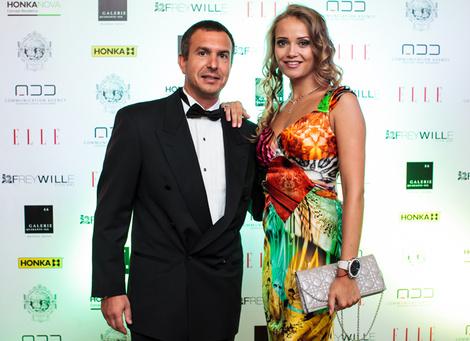 Александр Гузов и Юлия Роженцева