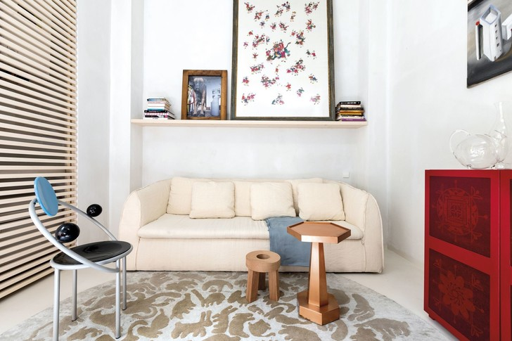 Лучше меньше да лучше: микроквартира дизайнера Альдо Чибика в Милане (фото 3)