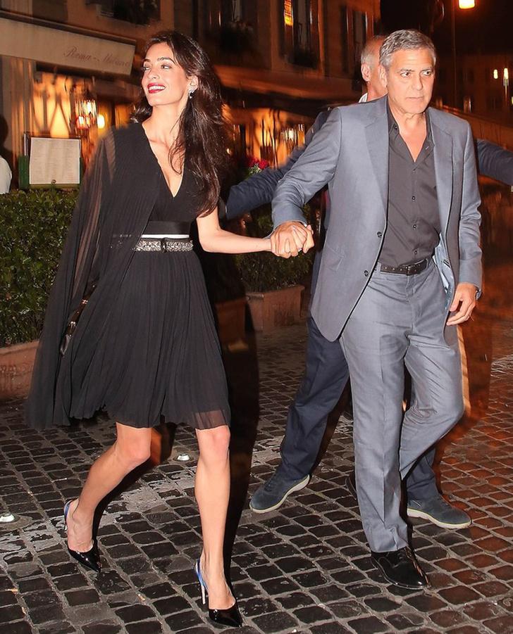 Амаль и Джордж Клуни фото 2016