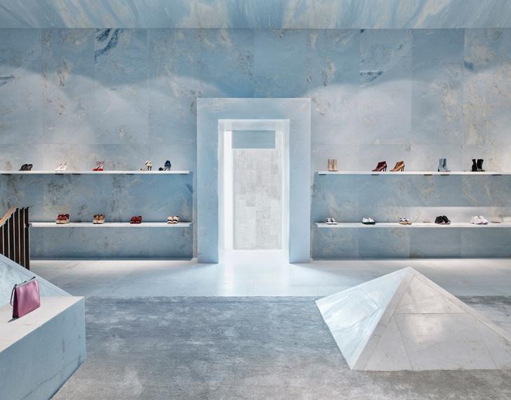 Голубые грезы: бутик Celine в Майами (фото 2)
