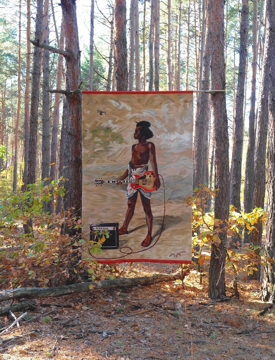 Украинские килимы и пикачу: художник Оксана Левченя (галерея 12, фото 0)