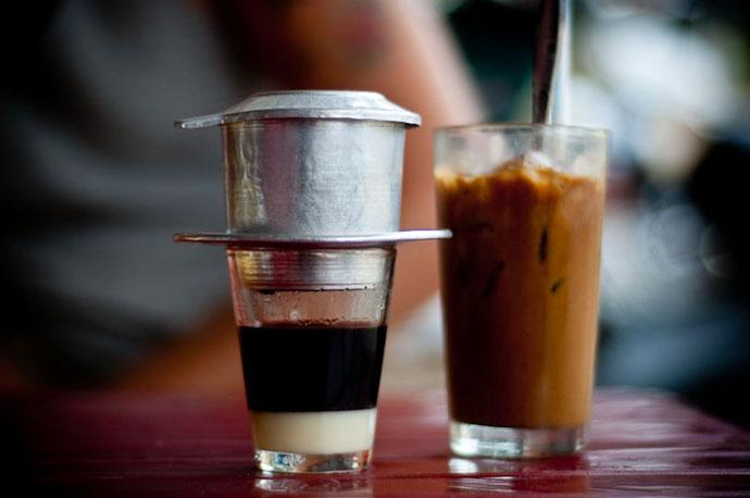 Вьетнамский холодный кофе