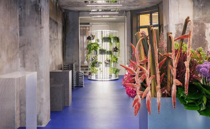 Цветочный магазин в Копенгагене (фото 0)
