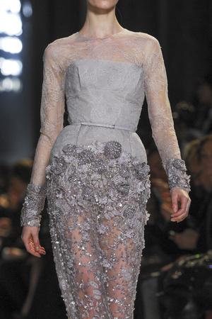 Показ Elie Saab коллекции сезона Весна-лето 2013 года Haute couture - www.elle.ru - Подиум - фото 480560