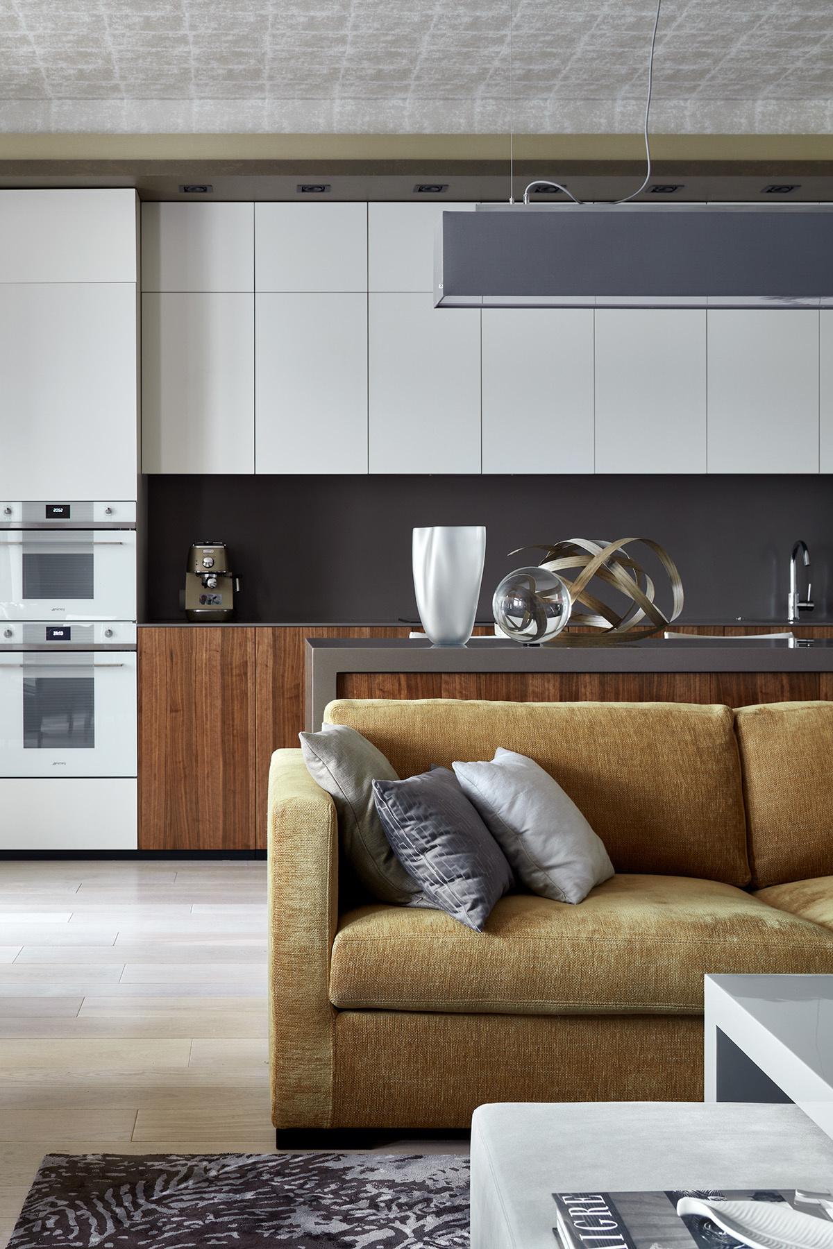 Дизайн кухни-гостиной: 25 актуальных идей (галерея 0, фото 25)