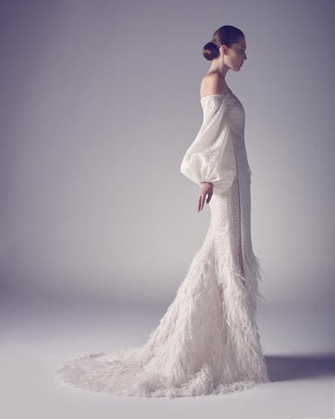 Любо-дорого: свадебная мода 2015   галерея [3] фото [12]