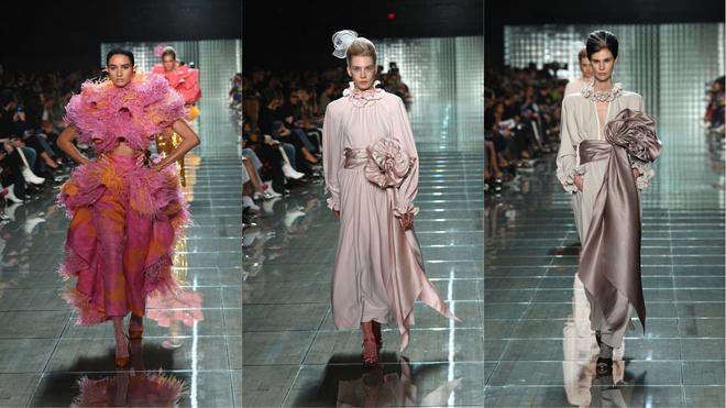 Перья, шелк и волшебная ностальгия: показ Marc Jacobs (фото 1)