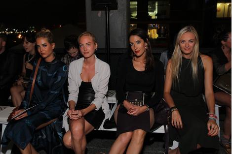 Virginie, Prisca, Jenna, Claire Courtins Clarins