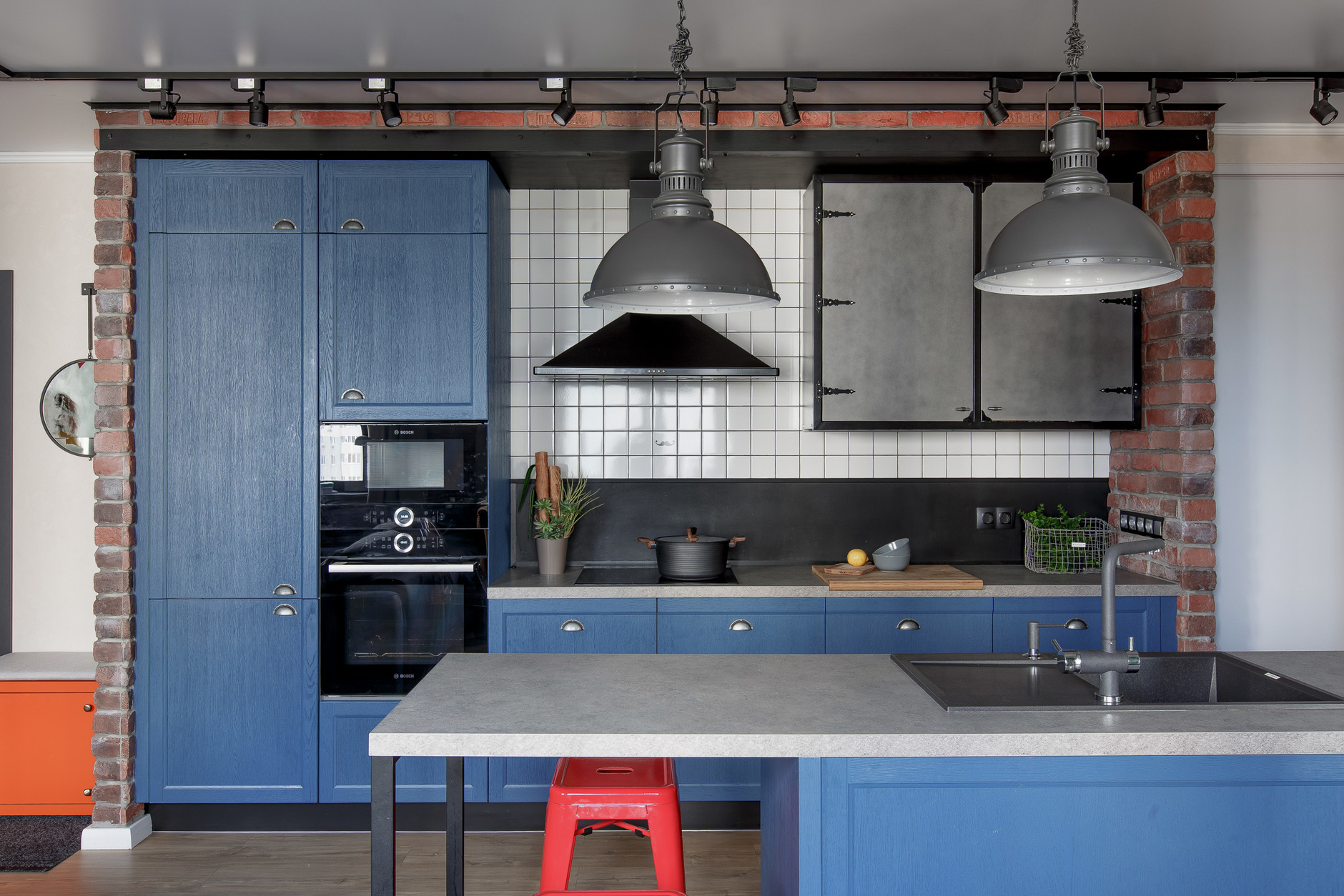 Кухонный остров: 25 ярких идей (галерея 1, фото 2)