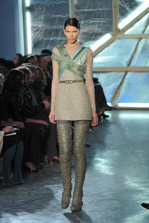 Показы мод Rodarte Осень-зима 2009-2010 | Подиум на ELLE - Подиум - фото 3207