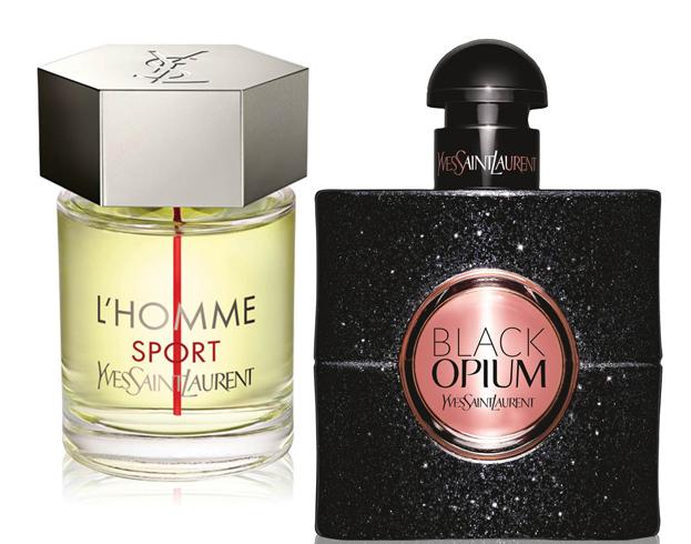 YSL Black Opium и YSL L'Homme Sport