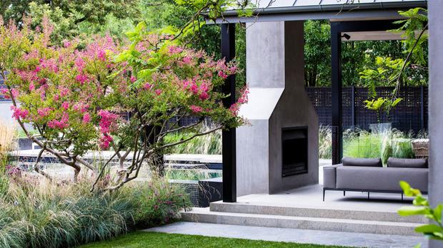 Современный дом и сад в пригороде Мельбурна (фото 5)