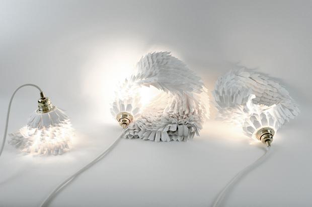Светильники- из бумаги (фото 0)
