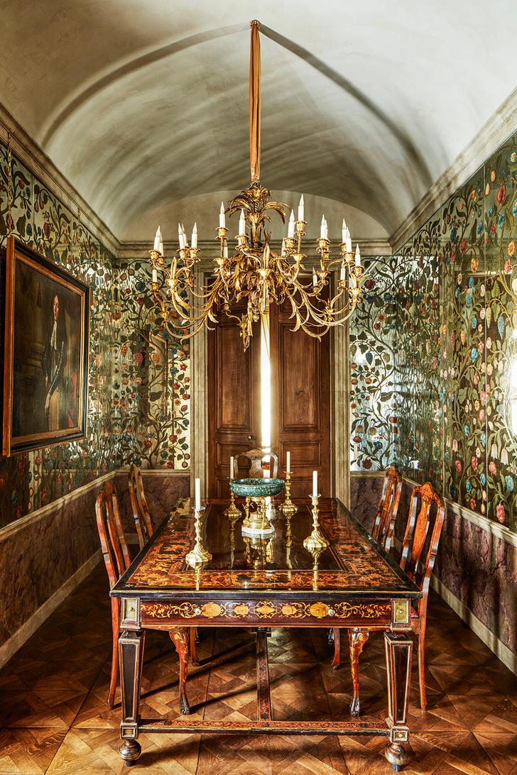Квартира в парижском особняке XVIII века фото [2]