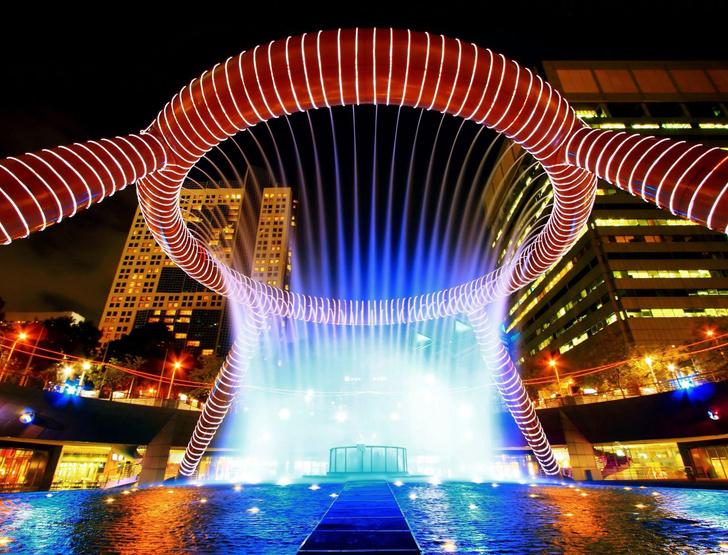 10 самых красивых фонтанов мира