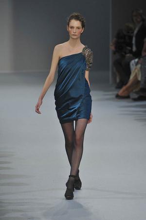Показ Christophe Josse коллекции сезона Осень-зима 2009-2010 года Haute couture - www.elle.ru - Подиум - фото 87381