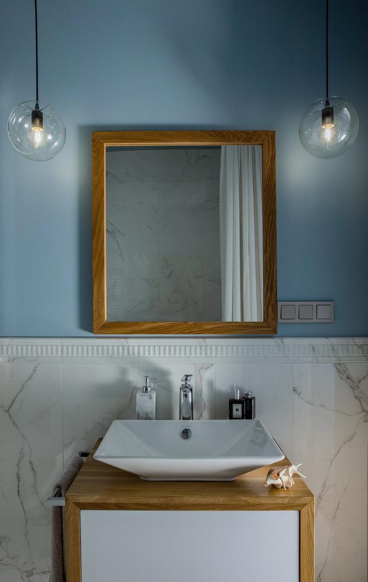 Квартира в серо-голубой гамме (фото 10)