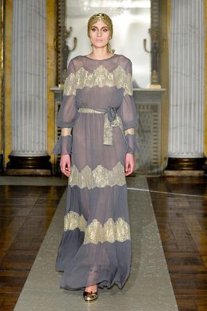 Показ Luisa Beccaria коллекции сезона Осень-зима 2011-2012 года Prêt-à-porter - www.elle.ru - Подиум - фото 243437