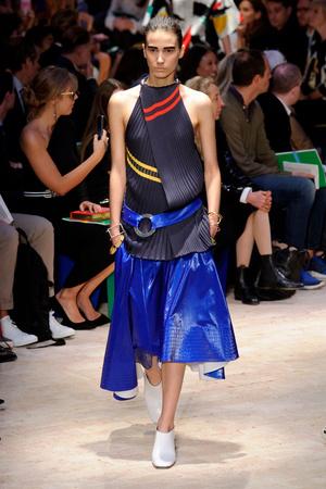 Показы мод Celine Весна-лето 2014 | Подиум на ELLE - Подиум - фото 3680