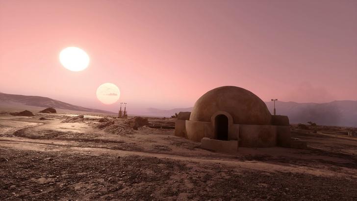 Канье Уэст строит префабы для бедных в духе «Звездных войн» (фото 0)