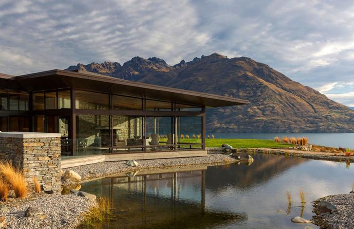 Одно целое: дом на берегу озера Вакатипу в Новой Зеландии (фото 2)