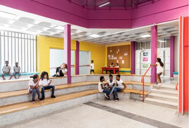 Яркая школа для детей-беженцев в Тель-Авиве (фото 3)
