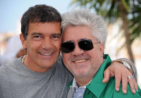 Антонио Бандерас и Педро Альмодовар