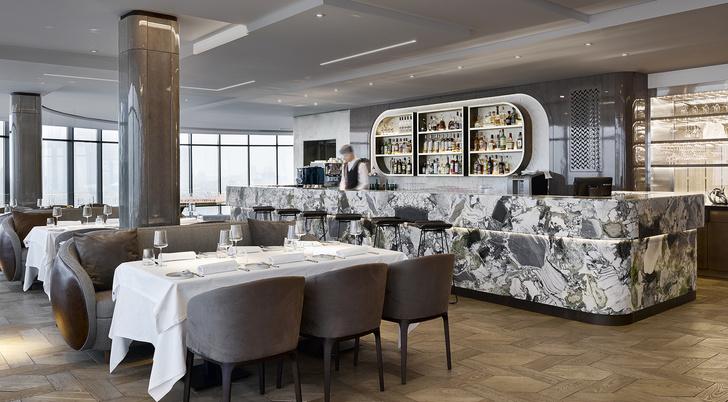 Новый ресторан «Сахалин» по дизайну Ирины Глик (фото 7)