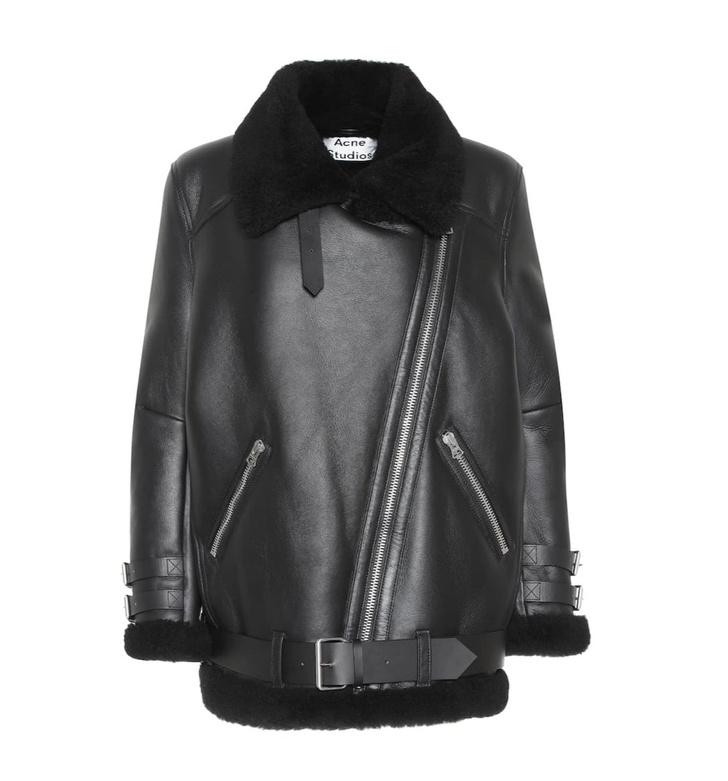 Кожаная куртка с мехом — лучшая покупка ноября (фото 7)