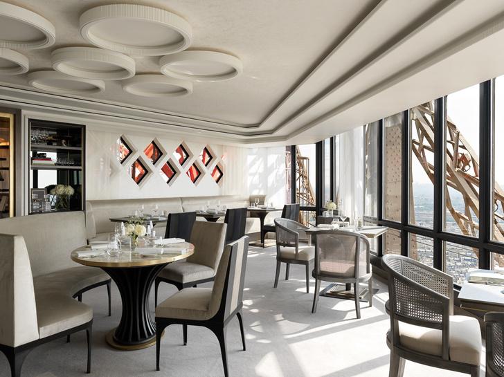 Возвращение легенды: ресторан  Le Jules Vernе на Эйфелевой башне (фото 8)