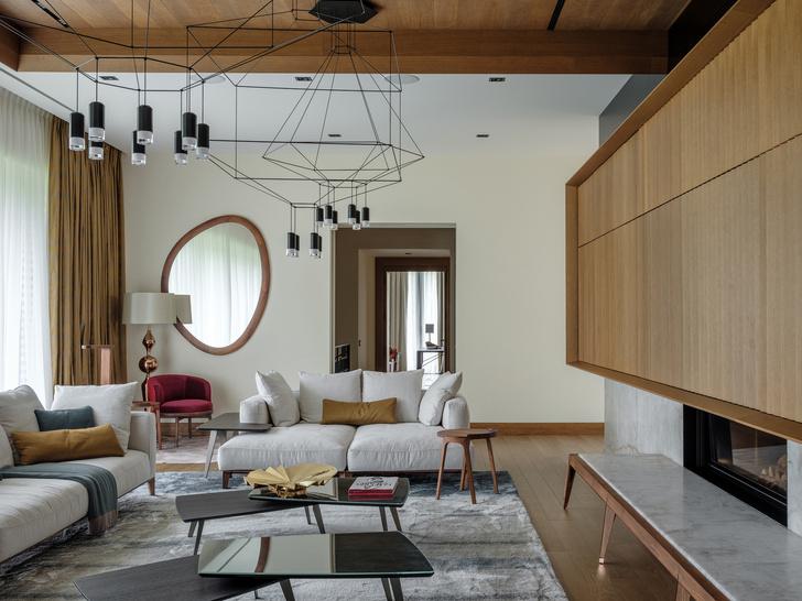 Современный дом  4500 м² с красивым садом на Новой Риге: проект бюро Woodstone (фото 15)