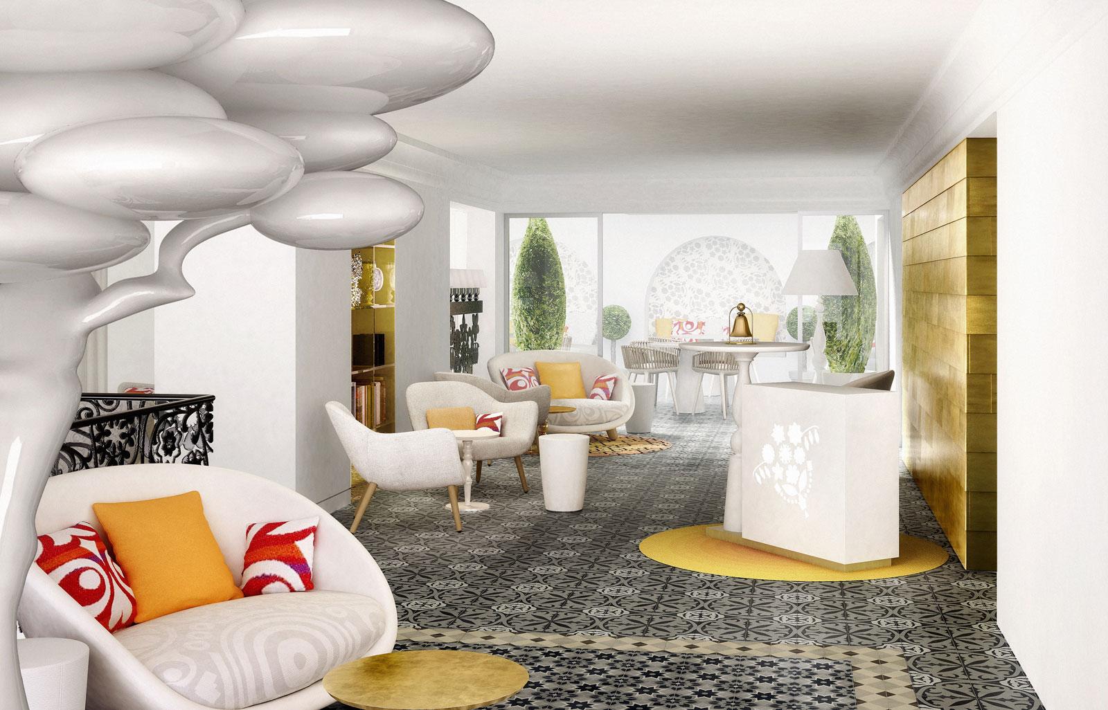 Марсель Вандерс оформил пятизвездочный отель на Майорке   галерея [1] фото [6]