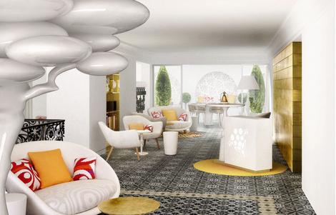 Марсель Вандерс оформил пятизвездочный отель на Майорке | галерея [1] фото [6]