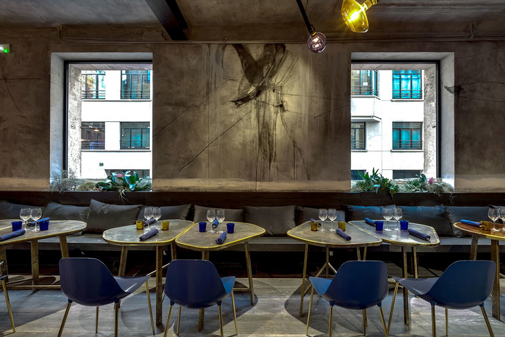 Парижский ресторан Jacopo – проект Натальи Белоноговой (фото 15)