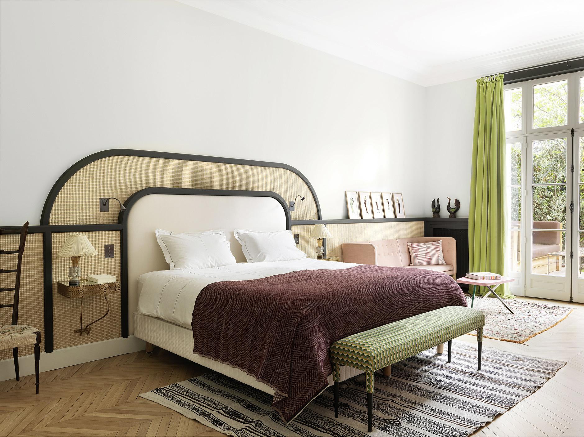 Кровати с необычными изголовьями: 30 примеров (галерея 0, фото 6)