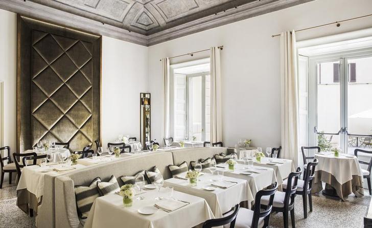 Миланский ресторан в двухсотлетней вилле (фото 0)