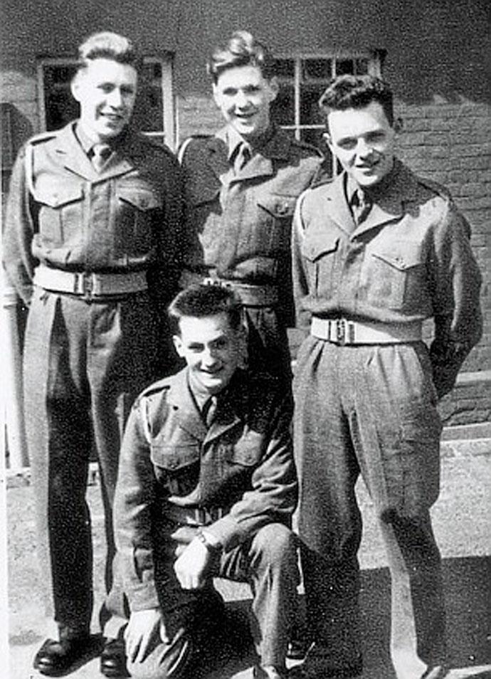 Хопкинс в армии